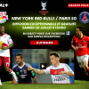 Regarder New York Red Bulls – Paris SG
