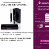 Un Mascara Chanel offert chez Marionnaud