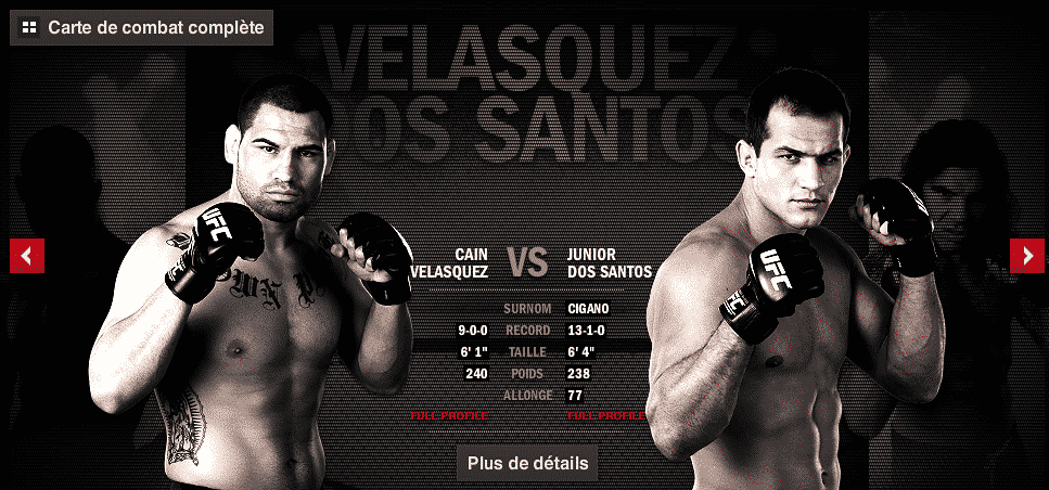 Cain Velasquez vs Junior Dos Santos