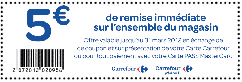 Coupons de reduction a imprimer network