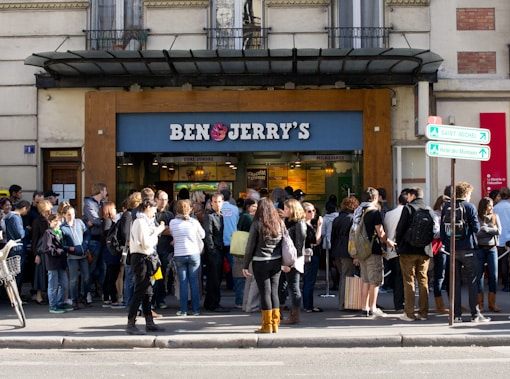 Une glace gratuite chez Ben &#038; Jerry&rsquo;s
