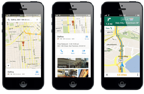 Google Map de nouveau disponible sur iPhone