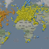 Flightradar : le trafic arien en temps rel