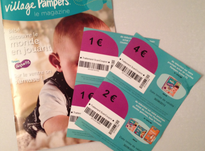 Coupons de r ductions pour couches et lingettes pampers le bon plan - Reduction couches pampers a imprimer ...