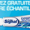 Un chantillon de dentifrice Signal gratuit