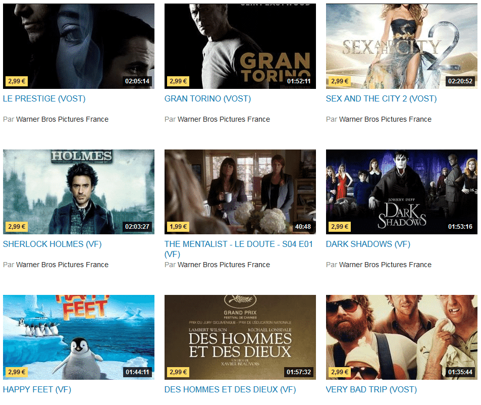 catalogue-warner-gratuit-dailymotion