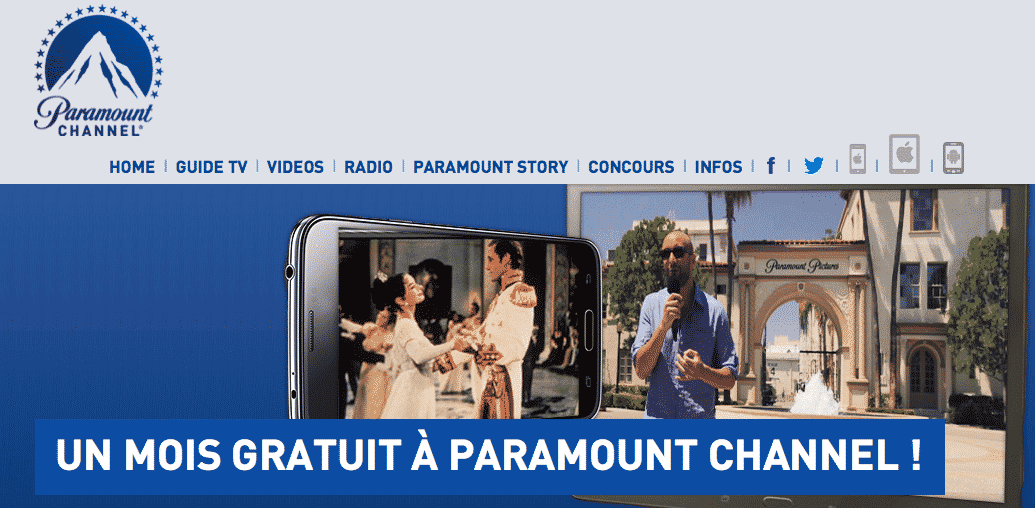 Paramount Channel Gratuit