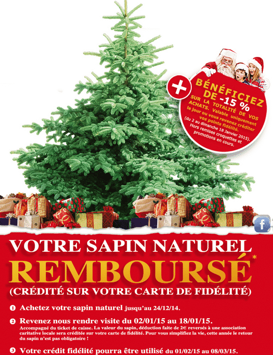 Promotion sapin chez Ma Jardinerie