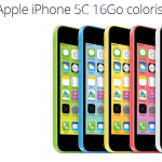 Iphone 5C reconditionné à 279 € sur Groupon