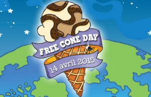 Free Cone Day 2015 : Distribution gratuite de glaces Ben & Jerry's
