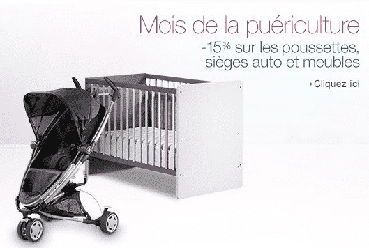 promo amazon sur les poussettes si ges auto chambre biberons babyphones le bon plan. Black Bedroom Furniture Sets. Home Design Ideas