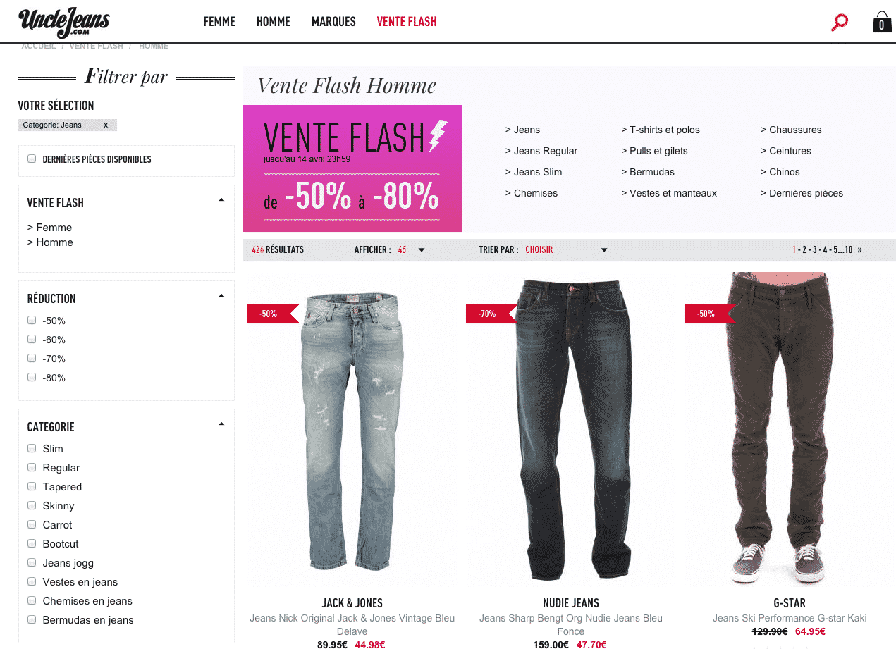 vente-flash-uncle-jean-grande-marque