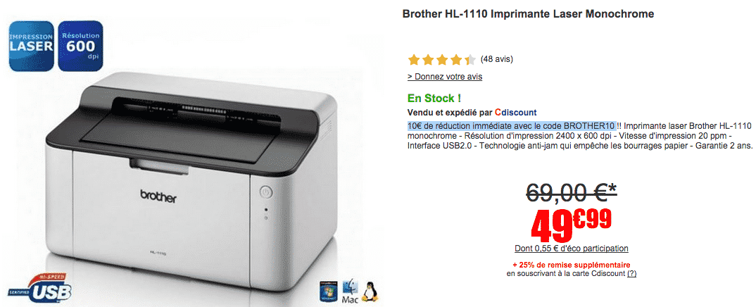 bon-plan-imprimante-laser-brother-sur-cdiscount-a-39-euros