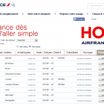 Air France : billet aller-retour Paris – Alger à 158 €,  Paris – Rabat à 178 € et Paris – Tunis à 138 € (bagage cabine uniquement)