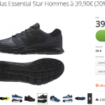 Groupon : Basket Adidas à 39,90 €