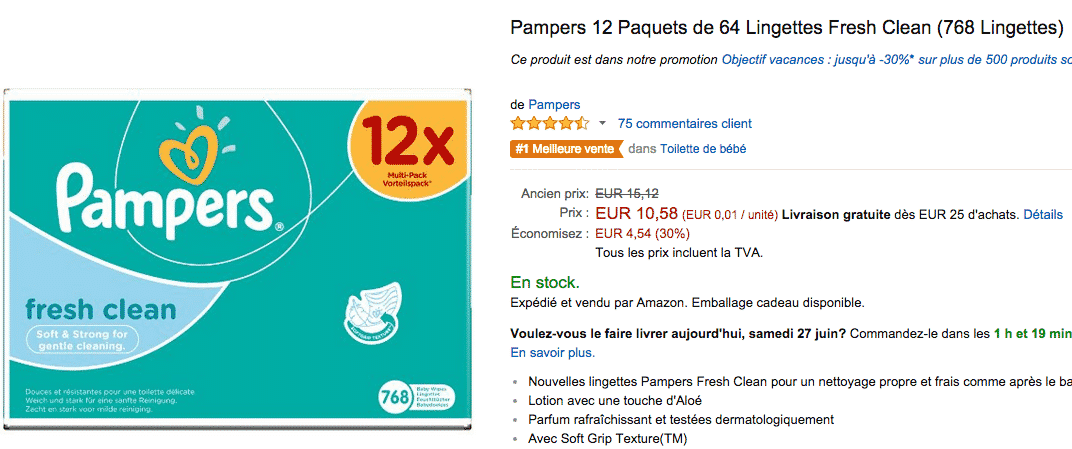 lingette-papmpers-en-promotion-sur-amazon