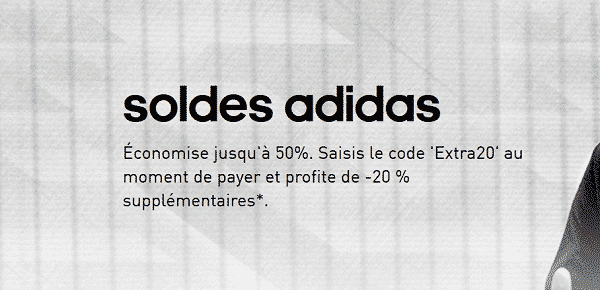 Soldes Hiver Adidas