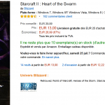 Starcraft II : Heart of the Swarm à seulement 13 € sur PC