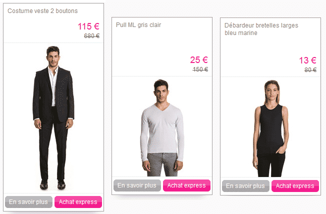 V tement calvin klein et guess en promotion sur vente priv e - Bon de reduction brico prive ...