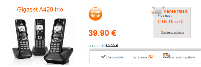 bon-plan-gigaset-a420-boutique-orange-vente-flash