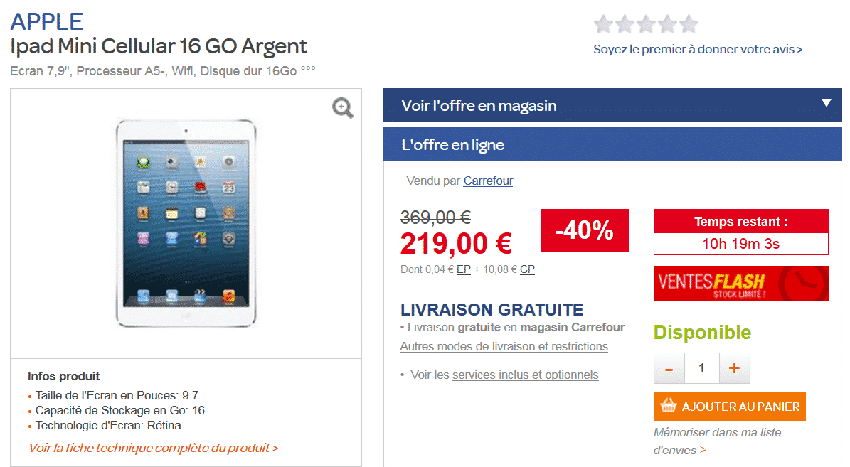 bon-plan-ipad-mini-vente-flash-carrefour