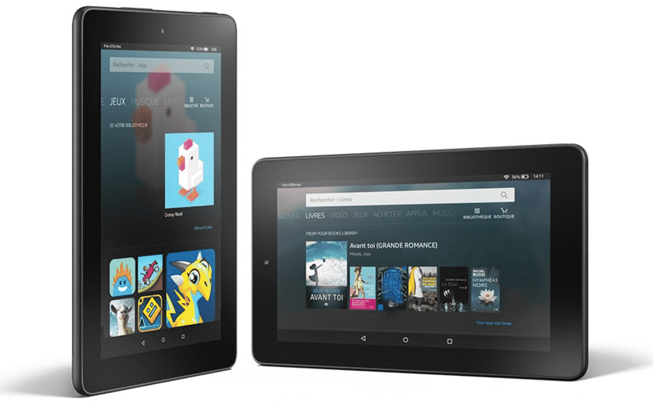 Tablette Fire 7 d'Amazon en promotion