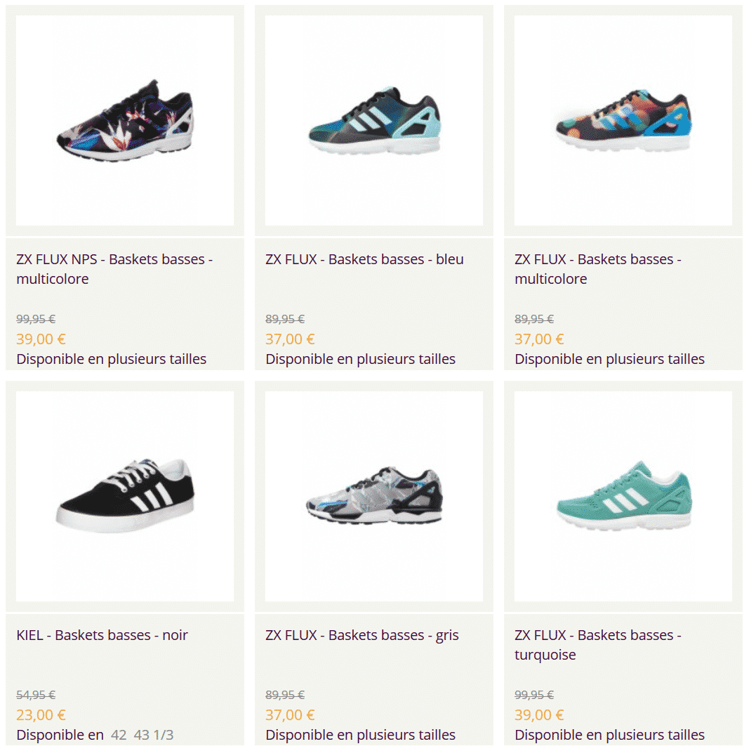 vente privée adidas superstar