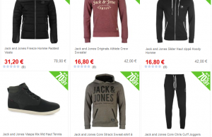 Vente Flash Jack & Jones : jusqu'à 70% de réduction