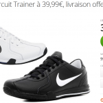 Basket Nike Circuit Trainer à 39,90 € sur Groupon