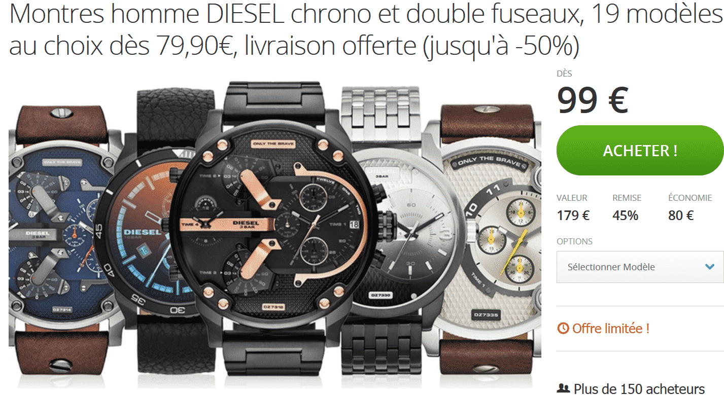 promotion-montres-diesel-groupon