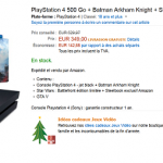 [Black Friday] PS4 + GTA V + Batman Arkham Knight + Star Wars Battlefront + Steelbook à 349 € !