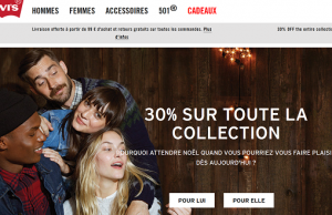 [Black Friday] Levis : 30% de réduction sur tout le site