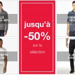 Men's Week Celio : 50% de réduction + 20% sur l'article le plus cher