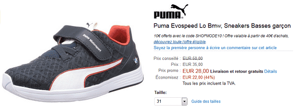 bon-plan-puma-evospeed-bmw
