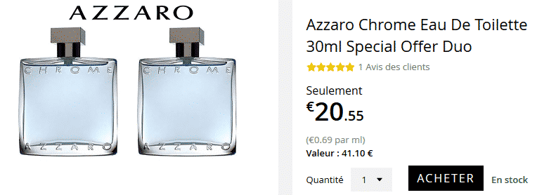 chrome-azzaro-lot-2-30ml-en-promotion