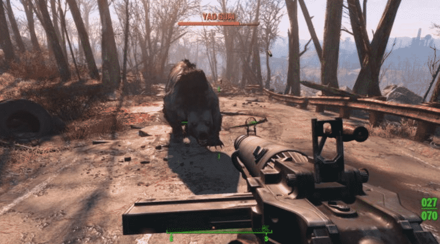GamePlay Fallout 4 sur PS4