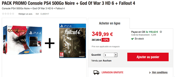 pack-ps4-god-of-war-fallout-4-en-promotion-auchan