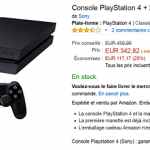 PlayStation 4 + 2ème manette Dual Shock 4 à 342 €
