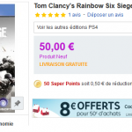 Tom Clancy's RainBow Six Siege sur PS4 ou Xbox One à 42 €
