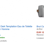 Coffrets Parfum (Axe, Brut, Dove) en promotion sur Amazon