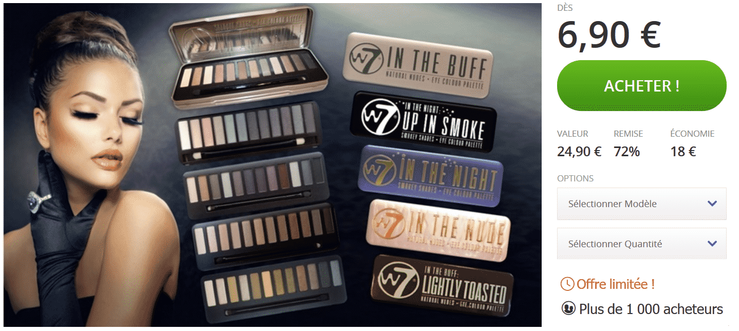 palette-maquillage-groupon-w7