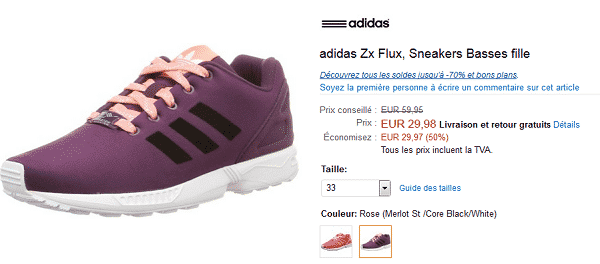 basket-adidas-zx-flux-amazon-soldes-2016