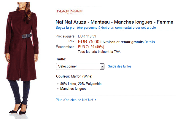 manteau-naf-naf-amazon-en-solde