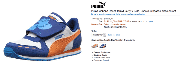 puma-cabana-tom-jerry-en-solde