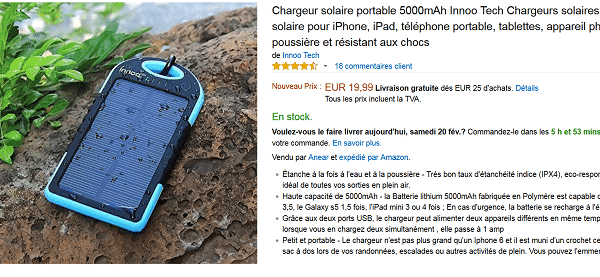 chargeur-solaire-code-promo-amazon
