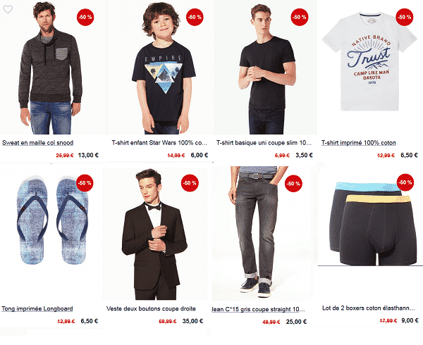 Destockage Celio