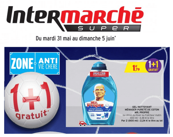 Catalogue Intermarché Gel Nettoyant Menager Mr Propre