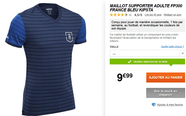 maillot-supporter-equipe-de-france-pas-cher