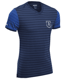 Maillot supporter équipe de France à 9,99 €