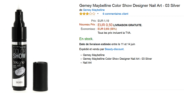 stylo-nails-gemey-maybelline-en-promotion-amazon